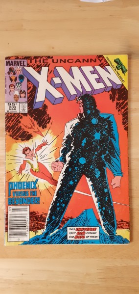 The uncanny X-Men issue 203 march