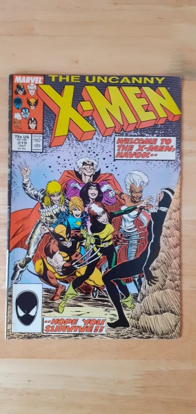 The uncanny X-Men issue 219 July
