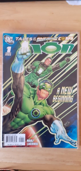 Tales of the Green Lantern issue 1 A New Beginning