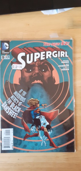 The new 52 Supergirl 9