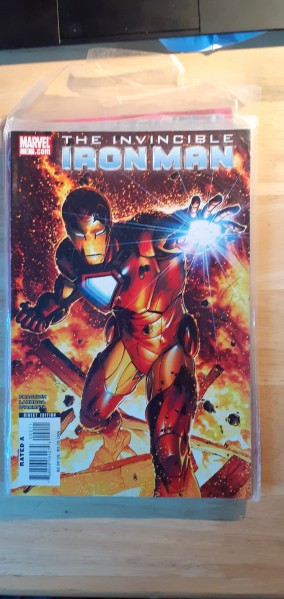 The Invincible Iron Man number two