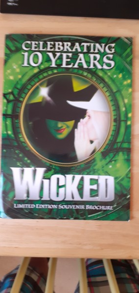 Wicked limited edition souvenir brochure